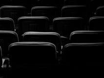 improv剧院展示的椅子布局 免版税库存照片