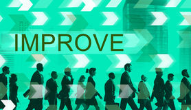 Improve Improvement Development Better Change Concept Stock Photos