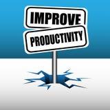Improve productivity Royalty Free Stock Photo