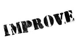Improve stamp rubber grunge Royalty Free Stock Photography