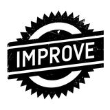 Improve stamp rubber grunge Stock Images