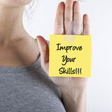 Improve your skills Royalty Free Stock Images