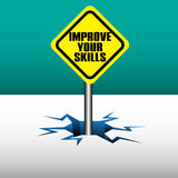 Improve your skills Stock Image