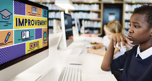 Improvement Advance Motivation Potential Education Concept Stock Photography