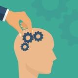 Improvement brain concept Royalty Free Stock Photo