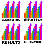 Improvement diagram Royalty Free Stock Photo