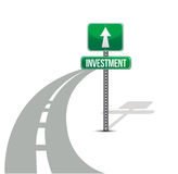Improvement of investment road Royalty Free Stock Images
