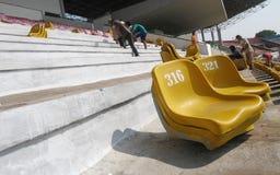 Improves football stadium Royalty Free Stock Image