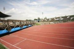 Improves football stadium Royalty Free Stock Photography