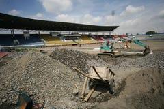 Improves football stadium Royalty Free Stock Photos