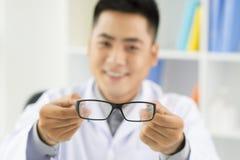 Improving eyesight Royalty Free Stock Photography