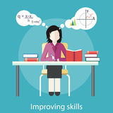Improving Skills Stock Image