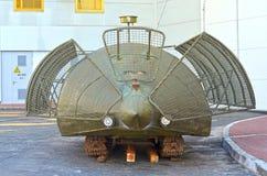 Ukrainian tank.XXI century Stock Photos