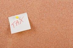 Impuesto Fotografía de archivo