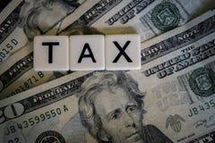 impuesto Imagen de archivo