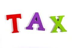 impuesto Imagen de archivo libre de regalías