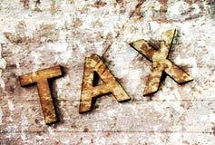 impuesto Imágenes de archivo libres de regalías