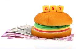 Impuesto de GST imágenes de archivo libres de regalías