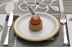 Impuesto en el huevo de Pascua foto de archivo