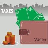 impuestos Imágenes de archivo libres de regalías