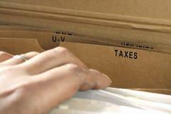 Impuestos Imagen de archivo libre de regalías