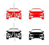 Impuls auf Auto Lizenzfreies Stockfoto