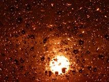 Impuls der Leuchte Stockfoto