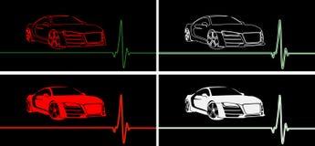 Impuls des schnellen Autos Lizenzfreie Stockbilder