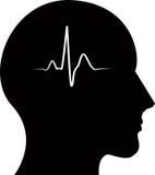 Impuls im Kopf stock abbildung