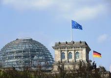 Impuls van Europa Berlijn Stock Afbeeldingen