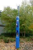 Impulse ayuda Quiosco del teléfono de la emergencia en UBC Imagenes de archivo
