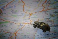 Impulsión de Atlanta Imagen de archivo libre de regalías