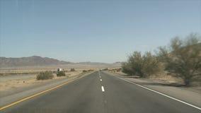 Impulsión de la carretera almacen de video