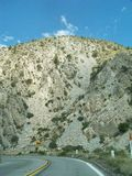Impulsión de la montaña Fotografía de archivo libre de regalías