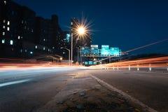 Impulsión de la noche Imagen de archivo