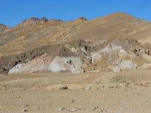 Impulsión de los artistas en Death Valley Fotografía de archivo libre de regalías