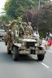 Impulsión de los vehículos de la guerra mundial 2 cerca Foto de archivo