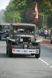 Impulsión de los vehículos de la guerra mundial 2 cerca Imagenes de archivo