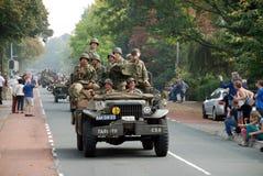 Impulsión de los vehículos de la guerra mundial 2 por 2 Foto de archivo