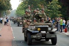 Impulsión de los vehículos de la guerra mundial 2 por 3 Imagenes de archivo