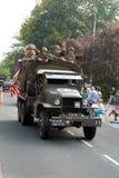 Impulsión de los vehículos de la guerra mundial 2 por 4 Imagen de archivo