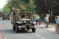 Impulsión de los vehículos de la guerra mundial 2 por 5 Imagen de archivo libre de regalías