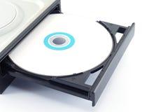 Impulsión del Cd o del DVD Imágenes de archivo libres de regalías