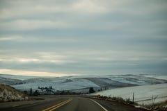 Impulsión del invierno Imagen de archivo