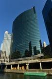Impulsión del oeste de 333 Wacker - Chicago Imágenes de archivo libres de regalías