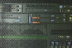 Impulsión del servidor y del CD o del DVD Foto de archivo