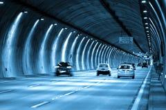Impulsión del túnel de Sao Paulo imagen de archivo libre de regalías