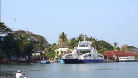 Impulsión marina de Cochin y terminal de contenedores del vallarppadam fotos de archivo libres de regalías