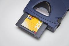 Impulsión y disco de la cremallera 250 de Iomega Imágenes de archivo libres de regalías