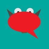 Impulsi di conversazione Immagine Stock